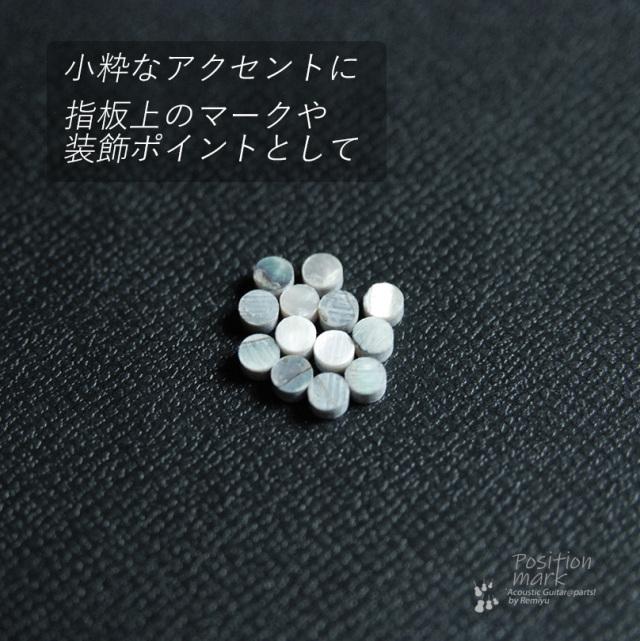 丸3mm メキシコ貝 12個セット 厚さ2mm 装飾用 アクセント