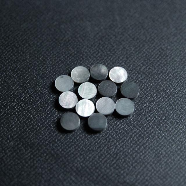 6mm 黒蝶貝 12個セット 厚さ2mm 装飾用 アクセント