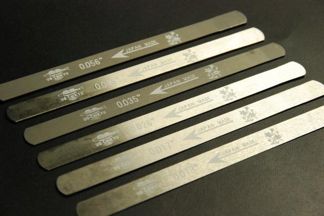 ナット溝ヤスリ 6本セット ライト弦ゲージ対応