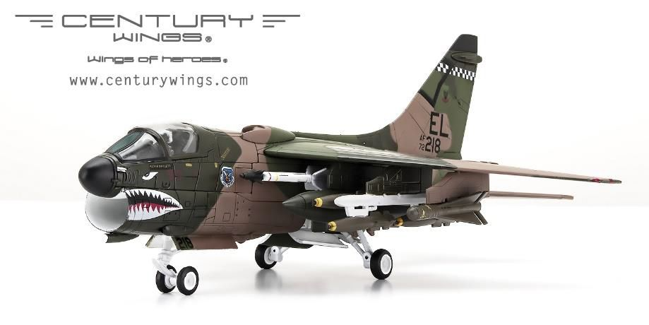 CenturyWings 1/72 A-7D アメリカ空軍 第23戦術戦闘航空団 第75戦術 ...