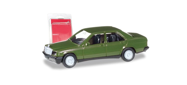 NEUF 1:87 Herpa b66005615 Somo MB w124 E 320 CABRIOLET ROUGE