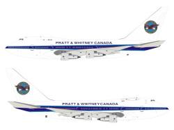 予約]InFlight Model 1/200 747SP-B5 プラット・アンド・ホイットニー ...