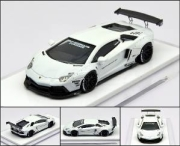 LB★PERFORMANCE 1/64 LIBERTY WALK LB Works Aventador LP700 White 世界限定999pcs