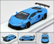 LB★PERFORMANCE 1/64 LIBERTY WALK LB Works Aventador LP700 Baby Blue 世界限定999pcs