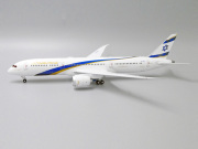 JC WINGS 1/200 1/200 787-9 El Al イスラエル航空 (Jerusalem of Gold) 4X-EDM With Stand