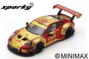 Spark (スパーク) Sparky 1/64 ポルシェ 911 GT3 R No.912 Manthey-Racing FIA GT World Cup マカオ 2018 Earl Bamber