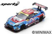 Spark (スパーク) Sparky 1/64 日産 GT-R ニスモ GT-R GT3 No.18 KCMG 10th FIA GT World Cup マカオ 2018 Alexandre Imperatori
