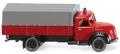 [予約]Wiking(ヴィーキング) 1/87 マギルス 消防車両 フラットベッドトラック