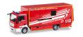 herpa Cars&Trucks 1/87 MAN ボックストラック ブレーメン消防署