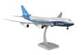 hogan wings 1/200 747-8 ボーイングハウスカラーブルー ※プラスチック製・スナップフィット、ランディングギア・スタンド付属