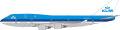 [予約]フェニックス 1/400 747-400 KLMオランダ航空 PH-BFR