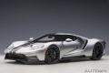 [予約]AUTOart (オートアート) コンポジットダイキャストモデル 1/18 フォード GT 2017 (メタリック・シルバー/ブラック・ストライプ)