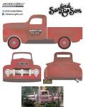 [予約]グリーンライト 1/18 フォード F1 トラック 1952(1972-77 TVシリーズ「Sanford and Son」)