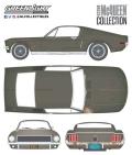 [予約]グリーンライト 1/18 フォード ムスタング GT ファストバック デトロイト・オートショー  2018年  -スティーブ・マックイーン主演  「ブリット」1968年  残存車 -