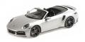 [予約]MINICHAMPS(ミニチャンプス) 1/18 ポルシェ 911 (992) ターボ S カブリオレ 2020 シルバー