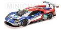 """[予約]MINICHAMPS(ミニチャンプス) 1/18 フォード GT """"CHIP GANASSI RACING UK"""" PLA/MÜCKE/JOHNSON 24h ル・マン 2016"""