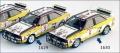 [予約]トロフュー1/43 アウディ クアトロ 1984年 サファリラリー #8 Stig Blomqvist/B. Cederberg (84年ワールドチャンピオン)