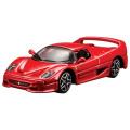 トミカプレゼンツ ブラーゴ 1/64 レース&プレイシリーズ F50(赤)