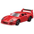 トミカプレゼンツ ブラーゴ 1/64 レース&プレイシリーズ F40 コンペティゼィオーネ(赤)