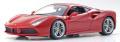 [予約]BURAGO(ブラゴ) 1/18 488 GTB(レッド) レース&プレイシリーズ