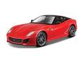 [予約]BURAGO(ブラゴ) 1/24 599 GTO (レッド) レース&プレイシリーズ
