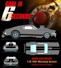 """[予約]GMP 1/18 フォード マスタング 1967 Gasser """"Gone in 6 Seconds"""""""