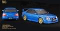 [予約]ixo (イクソ) 1/18 スバル インプレッサ WRX STI TUNE S9 SPECS 2003 メタリックブルー/ゴールドホイール