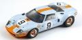 [予約]Spark (スパーク) 1/18 Ford GT 40 No.9 Winner 24H Le Mans 1968 P.Rodriguez/L.Bianchi ※再生産