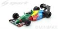 Spark (スパーク)  1/18 Benetton B188 No.19 3rd イギリス GP 1988  Alessandro Nannini