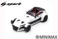[予約]Spark (スパーク)  1/18Donkervoort D8 GTO-40 Anniversary White 2018