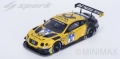 [予約]Spark (スパーク) 1/18 ベントレー コンチネンタル GT3 No.38 7th 24h Nurburgring 2016  ベントレー Team ABTC. Bruck/C. Menzel/G. Smith/F. Hamprecht