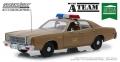 グリーンライト 1/18 1977 Plymouth Fury U.S. Army Police The A-Team (1983-87 TVシリーズ)
