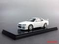 [予約]onemodel 1/43 日産 GT-R R34 ホワイト