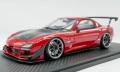 [予約]ignition model(イグニッションモデル) 1/18 FEED RX-7 (FD3S) 魔王 レッド ★生産予定数:140pcs