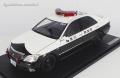 [予約]ignition model(イグニッションモデル) 1/18 トヨタ クラウン (GRS180) 神奈川県警 高速道路交通警察隊556号 ★生産予定数:160pcs