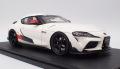 [予約]ignition model(イグニッションモデル) 1/18 GR Supra RZ (A90) ホワイト ★生産予定数:100pcs