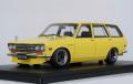 [予約]ignition model(イグニッションモデル) 1/18 Datsun Bluebird (510) Wagon イエロー 生産予定数:100pcs