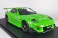 ignition model(イグニッションモデル) 1/18 MAZDA RX-7 (FD3S) RE Amemiya グリーン ★生産予定数:120pcs