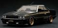[予約]ignition model(イグニッションモデル) 1/43 Nissan Skyline 2000 RS-Turbo (R30) ブラック ★生産予定数:100pcs