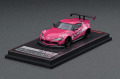 [予約]ignition model(イグニッションモデル) 1/64 PANDEM Supra (A90) ピンク