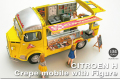 EBBRO (エブロ) 1/24 CITROEN H Crepe mobile with Figure