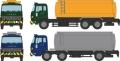 [予約]トミーテック 1/150 ザ・トラックコレクション 化成品ローリーセットA