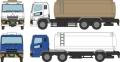 [予約]トミーテック 1/150 ザ・トラックコレクション 化成品ローリーセットB