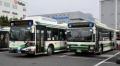 トミーテック 1/150 バスコレクション 東京ベイシティ交通(千葉県) 新旧カラー 2台セット