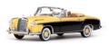 [予約]VITESSE(ビテス) 1/43 メルセデス・ベンツ 220 SE カブリオレ 1958 イエロー/ブラジルブラウン
