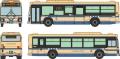 トミーテック 1/150 全国バスコレクション <JB041-2>横浜市交通局(神奈川県)