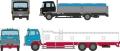 [予約]トミーテック 1/150 ザ・トラックコレクション 魚運搬トラックセットA