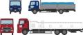 [予約]トミーテック 1/150 ザ・トラックコレクション 魚運搬トラックセットB