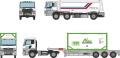 [予約]トミーテック 1/150 ザ・トラック/トレーラーコレクション ニヤクコーポレーション ローリーセット