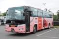 [予約]トミーテック 1/150 ザ・バスコレクション 西日本鉄道太宰府ライナーバス 旅人 ピンク版